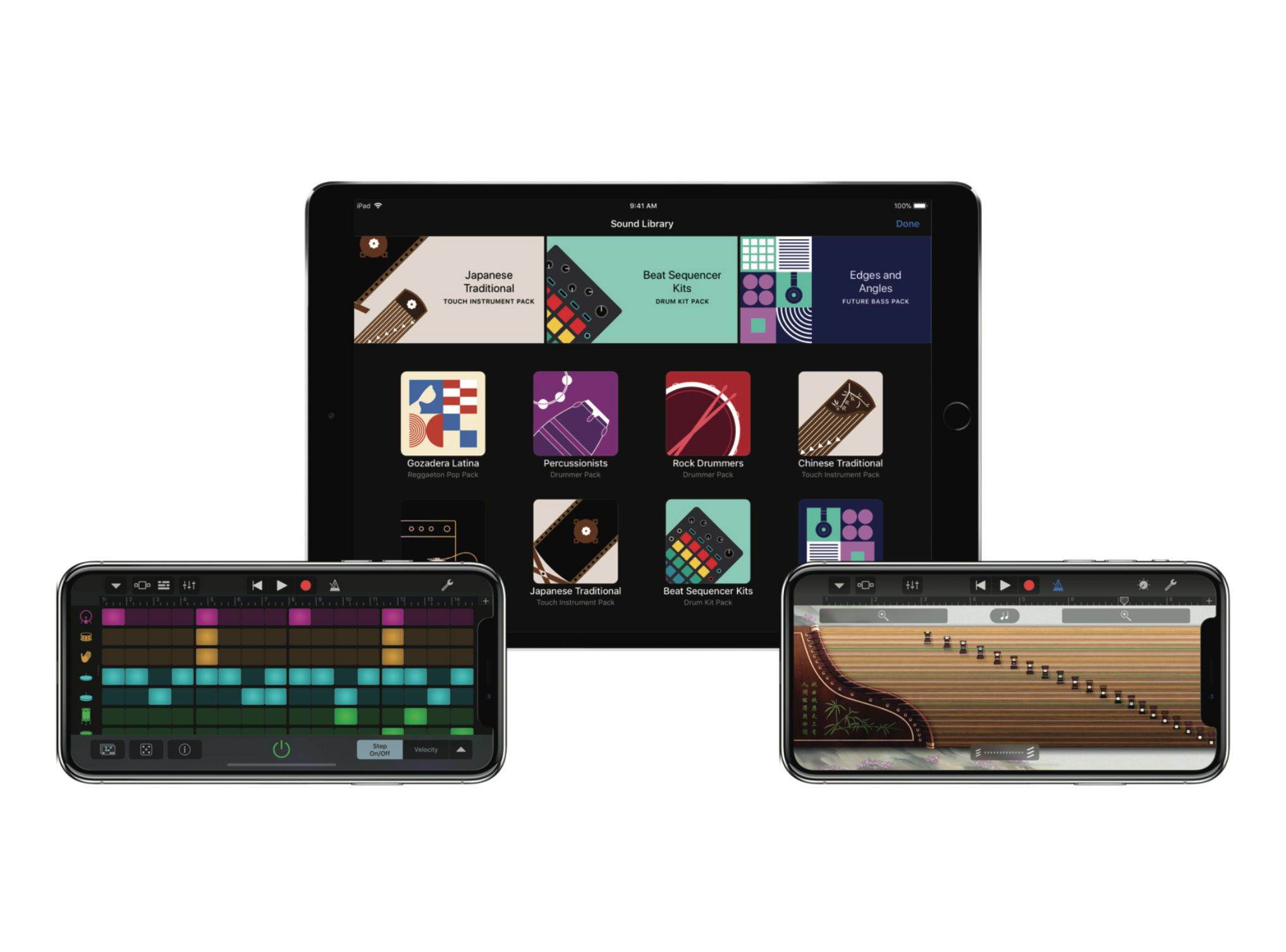 Garagebands new update includes 1000 new loops and makes