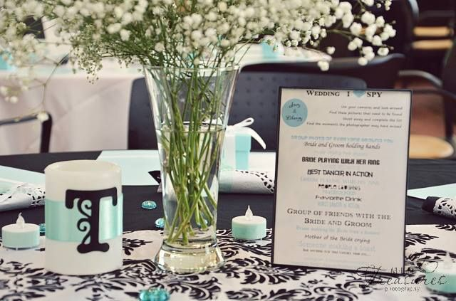 TIffany Blue Wedding w/ baby's breath....loved it! - MLH Treasures Photography