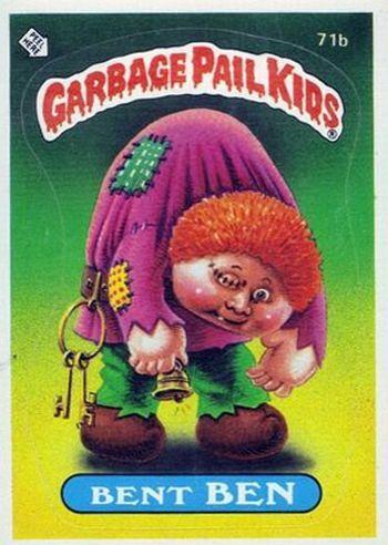 Pin By Randy Champion On Garbage Pail Kids Garbage Pail Kids Garbage Pail Kids Cards Pail