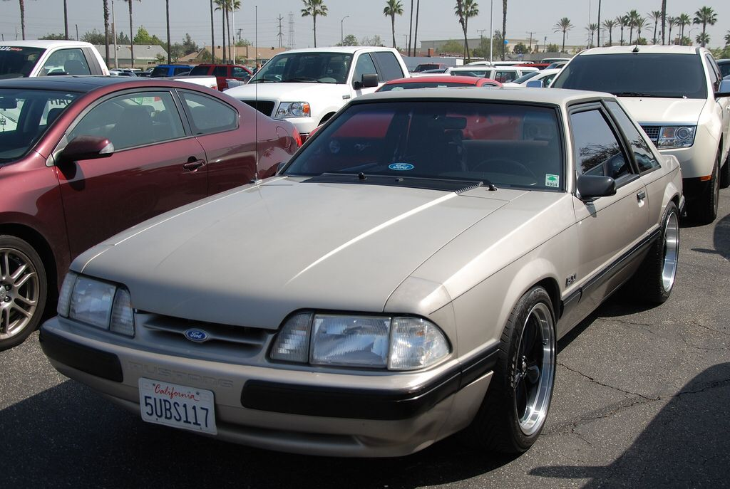 FORD MUSTANG LX COUPE FOXBODY
