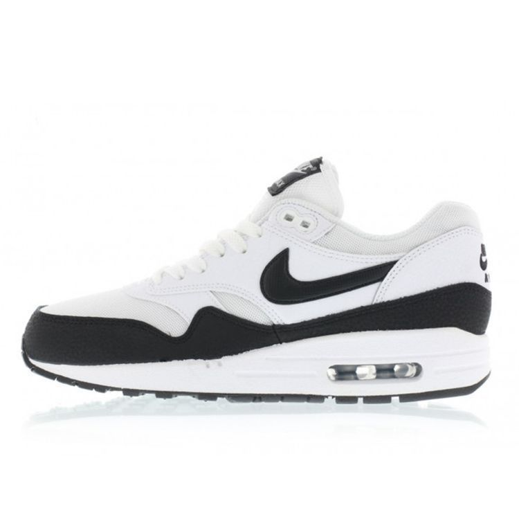 save off ed86d e66bb Nike WMNS Air Max 1 Essential (white   black   metallic silver) 599820-115