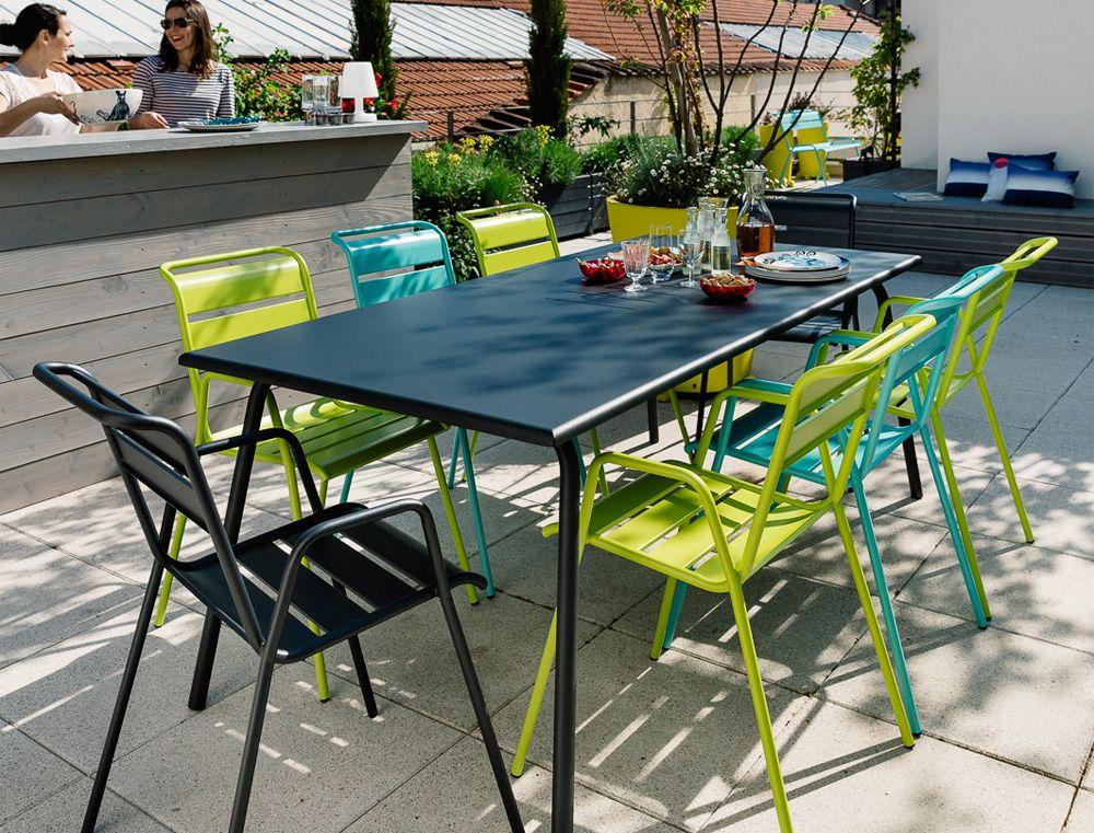 Bridge Monceau, fauteuil de jardin en métal | Outdoor ...