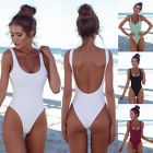 Details about Women Push Up One Piece Bikini Monokini Swimsuit Bandage Swimwear Bathing Suit