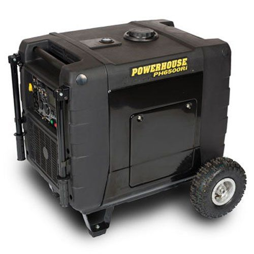Powerhouse 69274, 6000 sprinting Watts/6500 Starting Watts, Gas influenced transportable Inverter, CARB Compliant