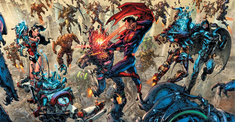 Wonder Woman #49, Superman/Wonder Woman #25 et de Justice League Darkseid War Special #1 covers by Kim Jung Gi