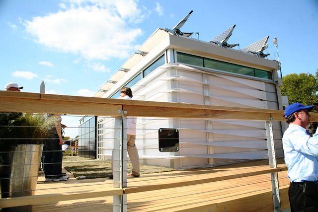 Exterior GA Tech Solar House