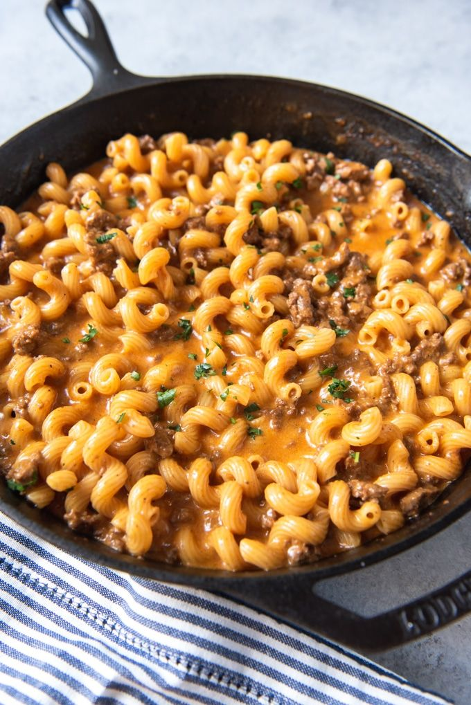 Cheeseburger Macaroni Skillet images