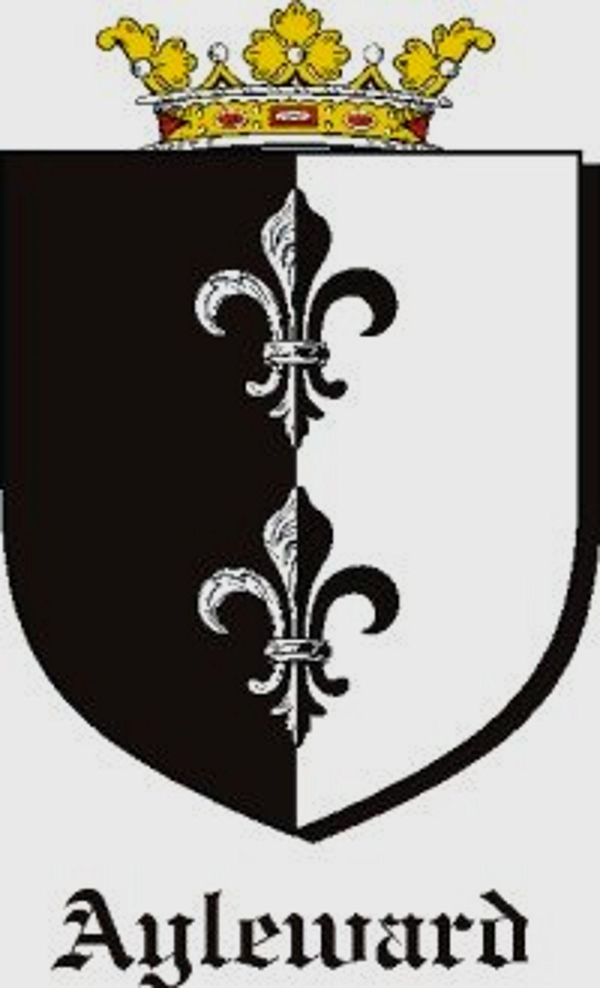 Ayleward coats of arms ayleward family crests family genealogy anglo saxon buycottarizona Images