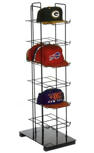 Hat Racks For Baseball Caps Delectable Counter Baseball Caps Rack Displaybuild Shelving Into Porch Inspiration Design