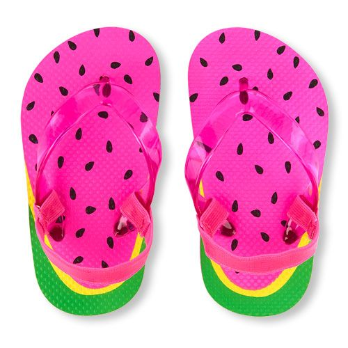 7c690c8ade32 Baby Girls Toddler Watermelon Graphic Flip Flop - Pink - The Children s  Place