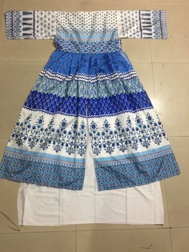Indian Pakistani Ethnic Anarkali Salwar Kameez Designer Suit ...