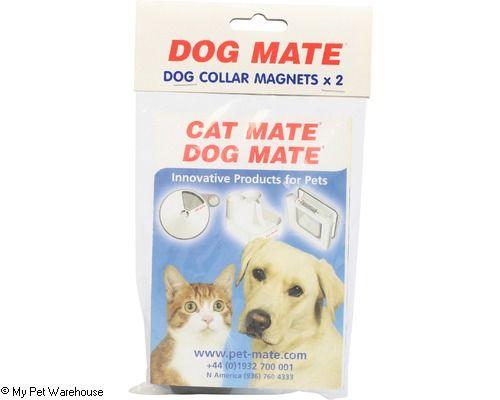DOG MATE PET DOOR DOG COLLAR MAGNETS PACKET 2 - My Pet Warehouse
