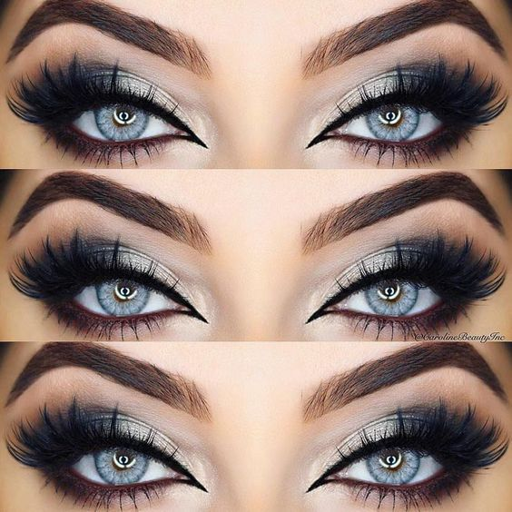 54 Best Ideas Of Makeup For Blue Eyes #mineralcosmetics