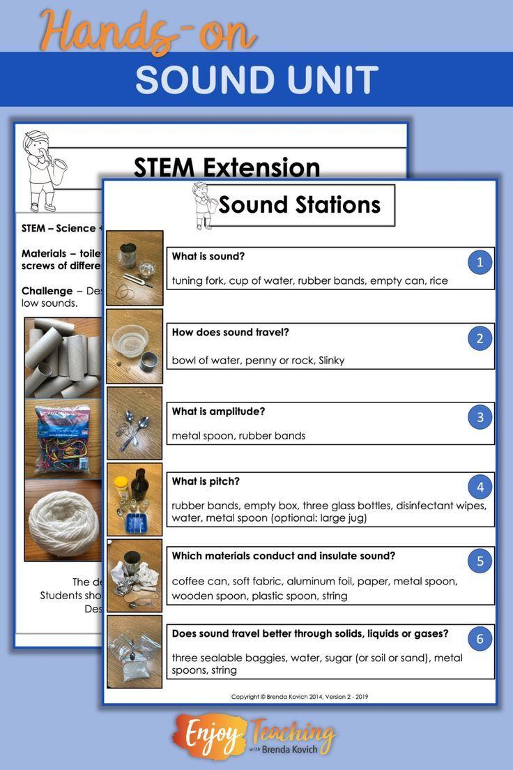 Sound Lesson Plans Enjoy Teaching with Brenda Kovich in