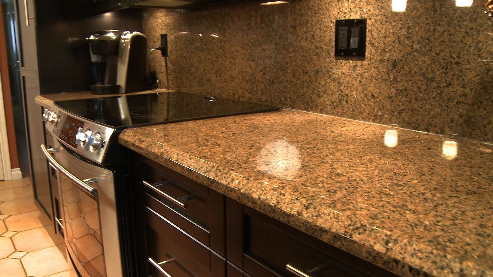 Vinyl Wrapped Countertops And Backsplash!