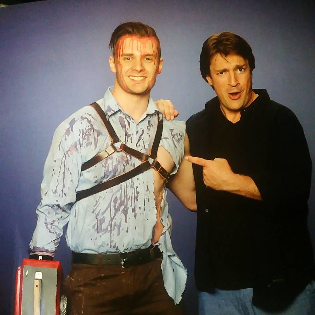 When @natefillion is as awesome in real life as he is on screen.  #supanova2016 #supanova #nathanfillion #cosplay Adalaide, Australia Nov 18-19, 2016