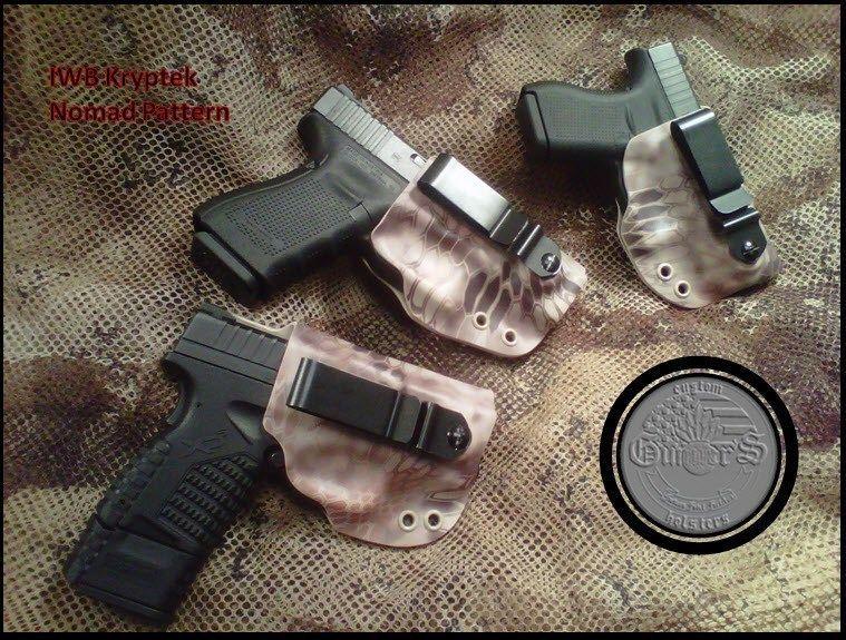 Details about GUNNER's CUSTOM HOLSTERS Kryptek IWB Concealment ...