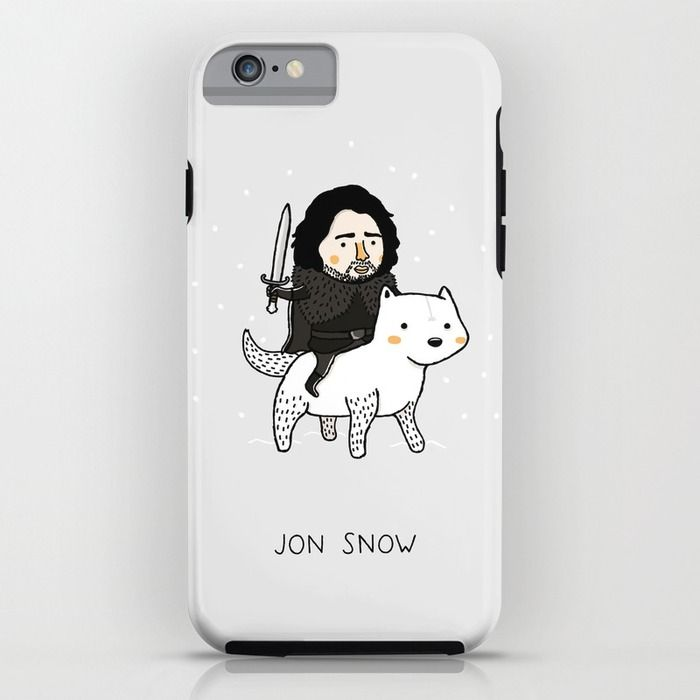 Jon snow game of thrones iphone ipod case