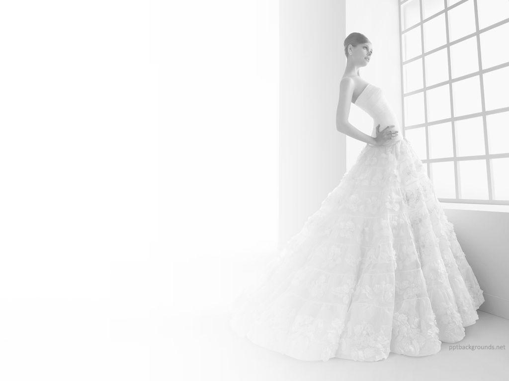 An elegant wedding gown rosa clara power point ideas pinterest an elegant wedding gown rosa clara ppt backgrounds toneelgroepblik Images