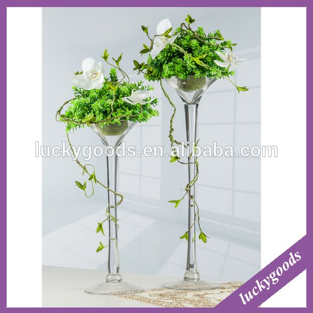 Source Different Sizes Good Quality Tall Elegant Glass Vases For Table  Decoration On M.alibaba