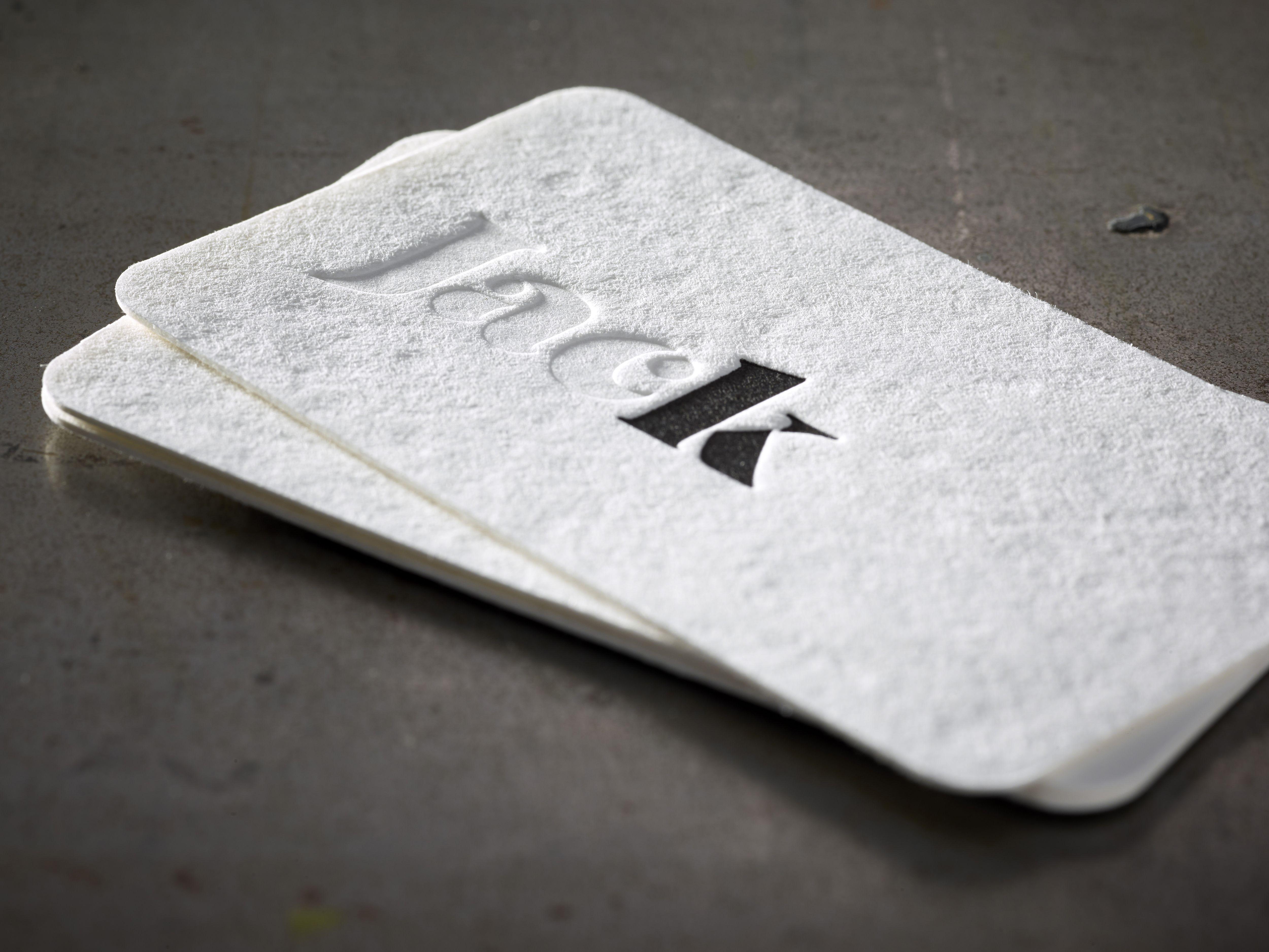 business card jack design jan neyens letterpress neutral