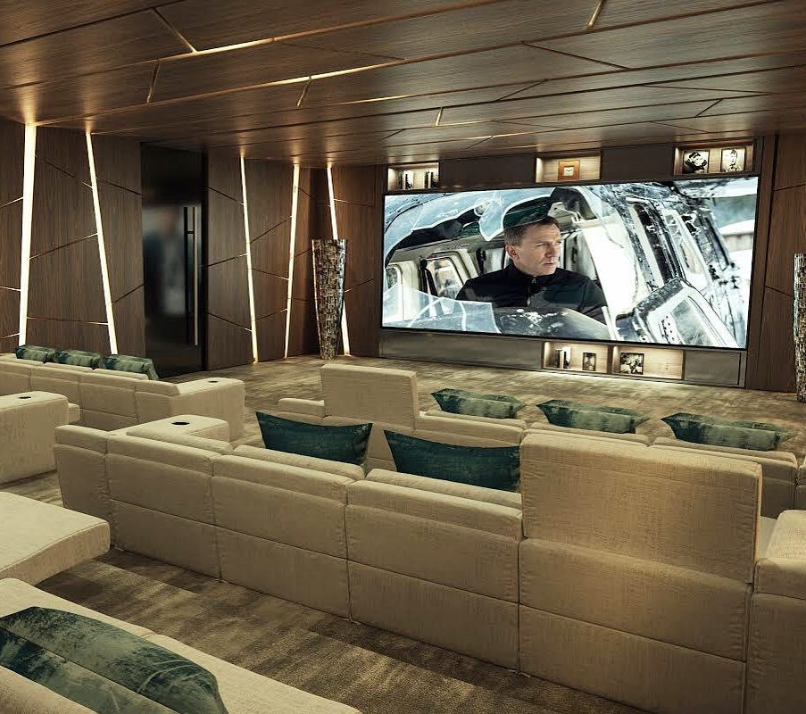 Luxury On Instagram 1475 Bel Air By Ramtin Ray Nosrati Theatre Room By Ramtin Ray Nosrati Theatre Interior Home Theater Design At Home Movie Theater