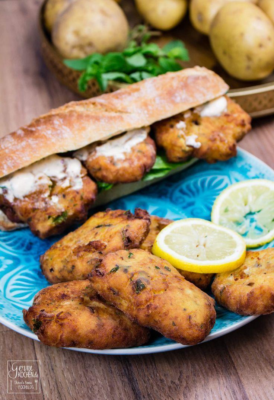 Maaqouda   Marokkanische Kartoffelplätzchen