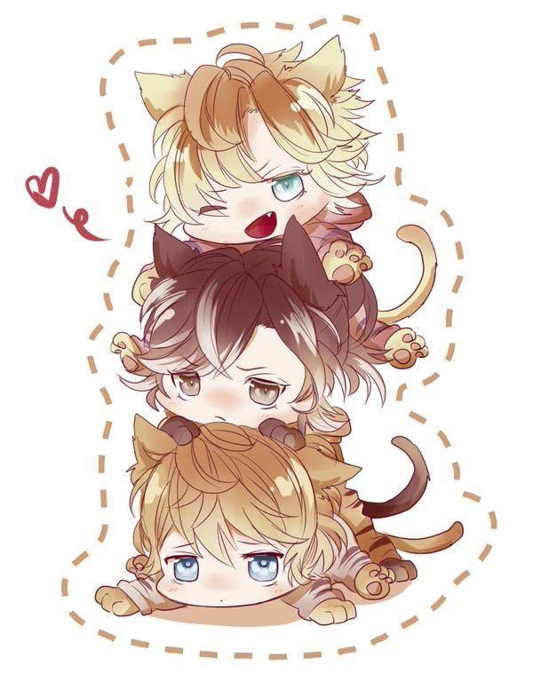 Diabolik Lovers | Kou | Yuma | Shu | Neko |