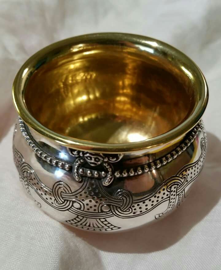 Lejre silver glass