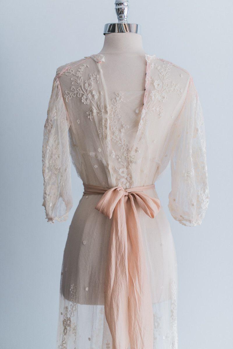 Edwardian lace dress xss wedding