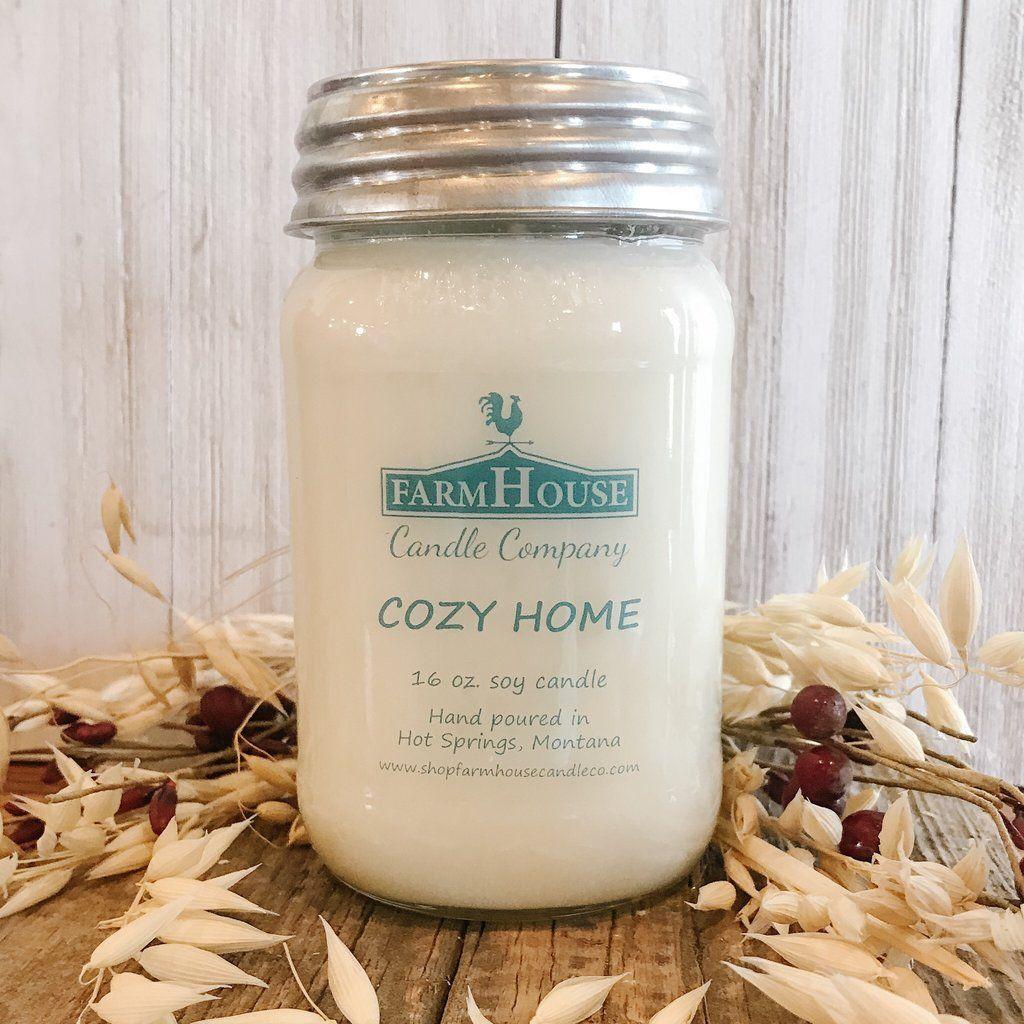 Cozy home 16 oz mason jar candle 16 oz mason jars mason
