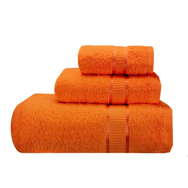 Orange Bath Towels With Images Bath Towels Luxury Orange