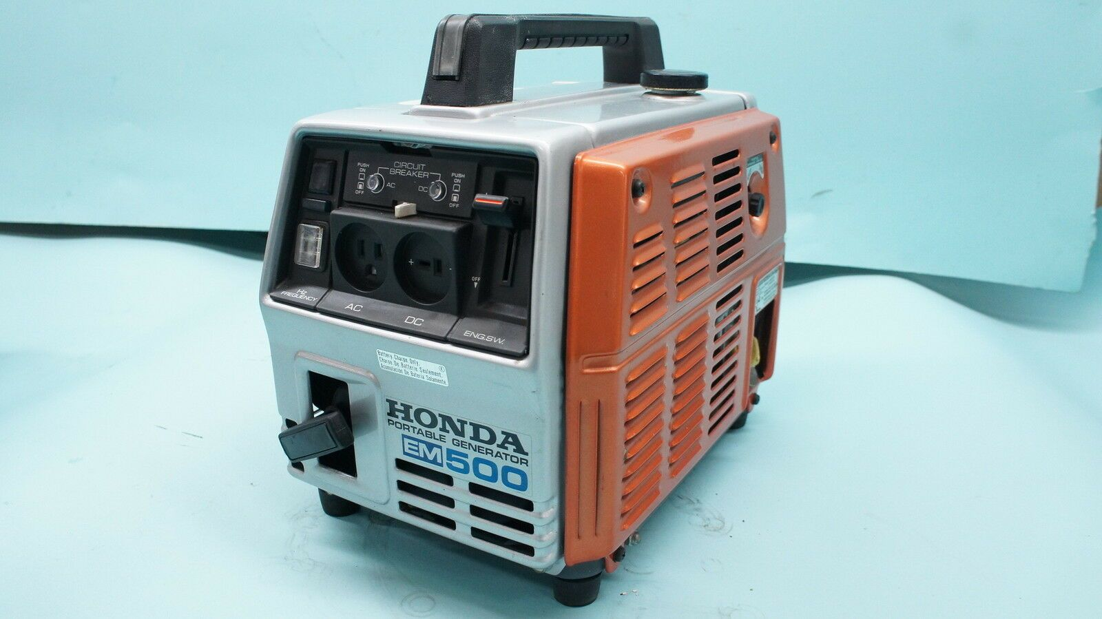 Vintage Early Honda Em500 Generator 500 Watt 110 Ac 12 Volt Dc Japan Nos New In 2020 Generators For Sale Generation Honda