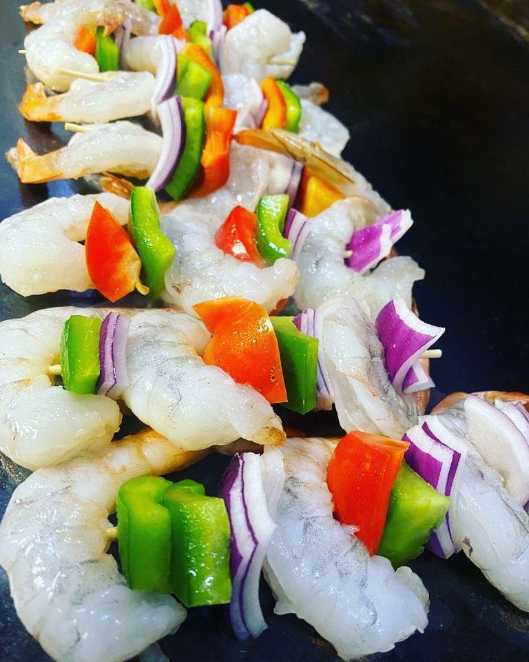 Alambres de Camarón in 2020 Food, Mexican sushi, Mexican