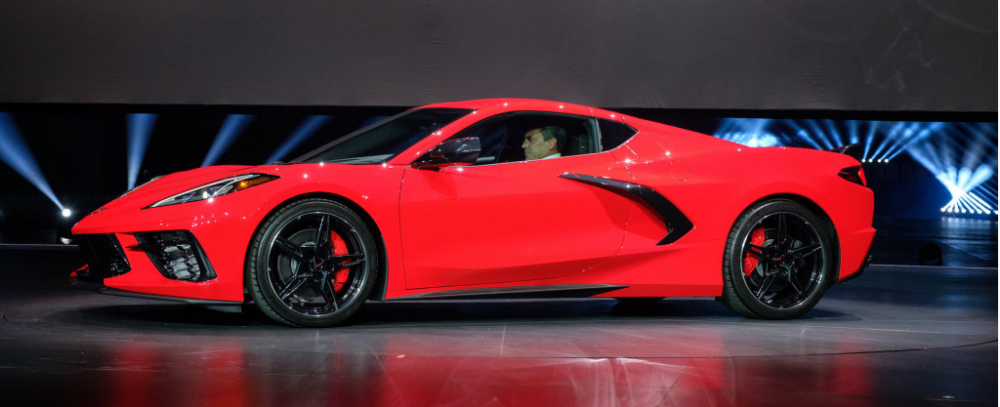 2020 Chevrolet Corvette Stingray Arrives With Mid Engine Design No Manual Up To 495 Hp Con Immagini