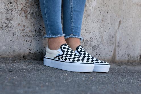 Vans Classic Slip-On Checkerboard Platform #vans #vans #slip ...