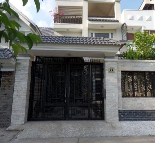 Découvrir une #villa à louer à #thaodien à Ho Chi Minh Ville (Vietnam)