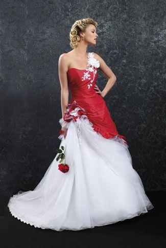 Signification d'une robe de mariee rouge