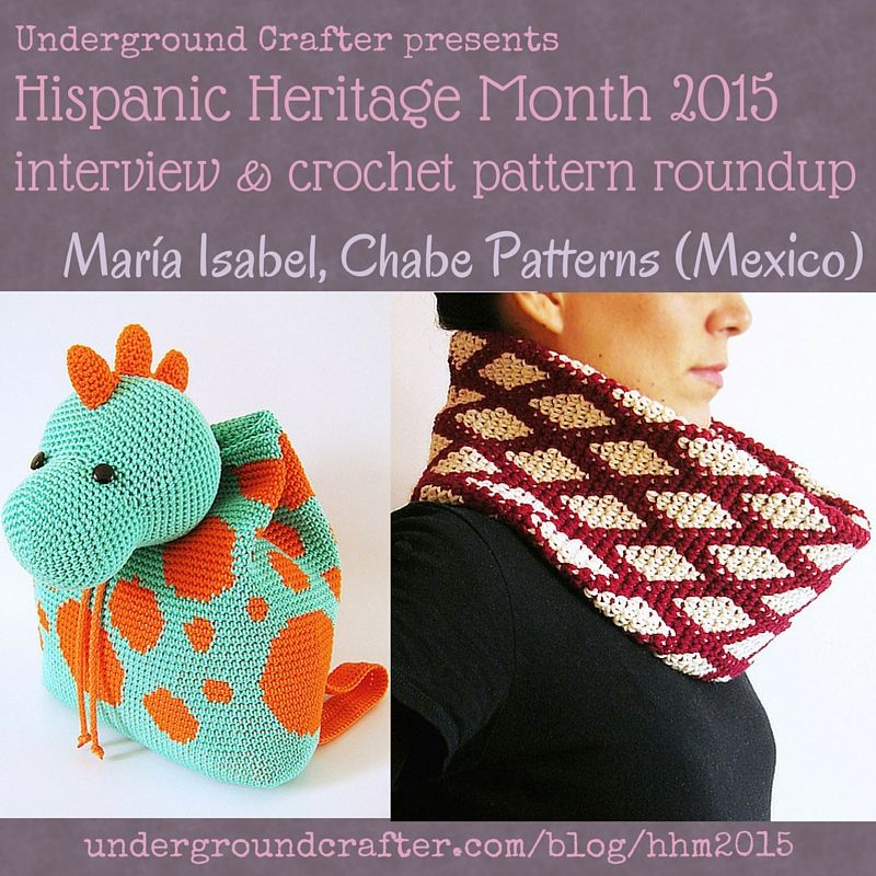 Interview with crochet designer, Maria Isabel from Chabe Patterns ...