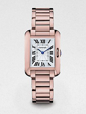 d8006aa16aa Cartier - Tank Anglaise Small 18K Pink Gold Bracelet Watch