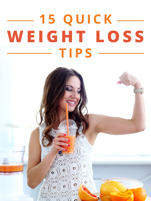 quick easy weight loss tips