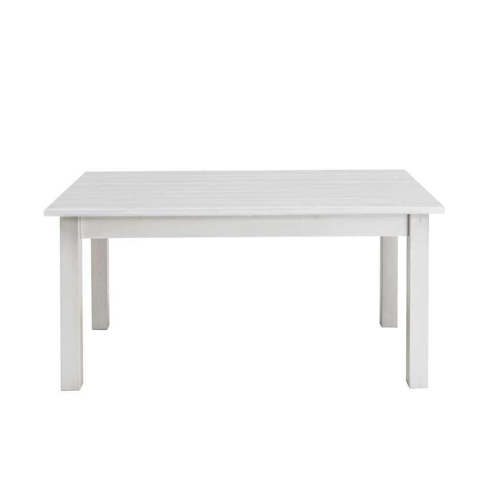 Landhaus Tische kiefer esstisch in weiß landhaus holztisch massivholztisch