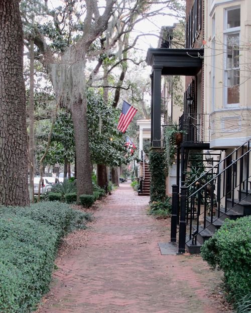 I would love to live on this southern tree covered street