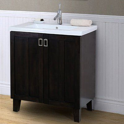 Longshore Tides Tianna 30 Single Bathroom Vanity Set Bathroom Sink Vanity Vanity Small Bathroom Vanities