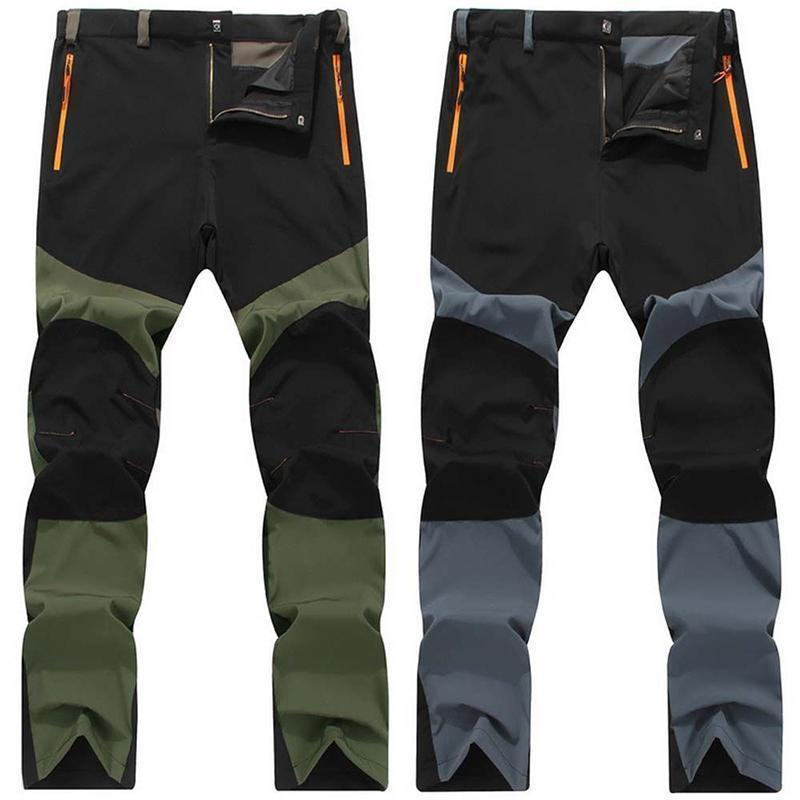 Men  S Outdoor Hiking Climbing Sport Trousers Pants Camping Plus Size 47589a6d5