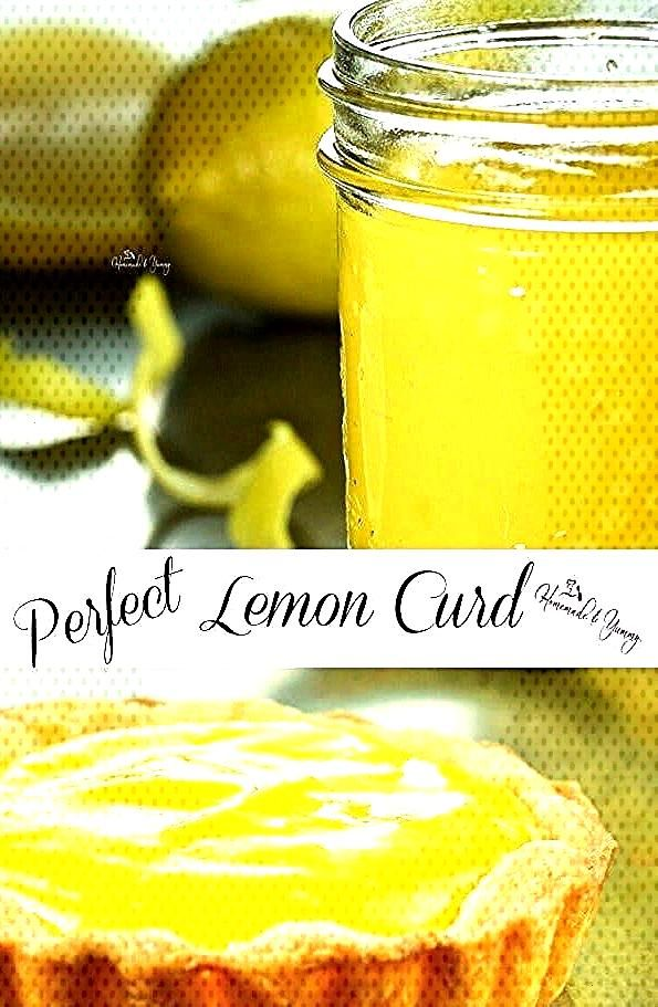 Perfect Lemon Curd. Thick, smooth, sweet, tart. Vibrant in colour and taste. Homemade lemon curd ca