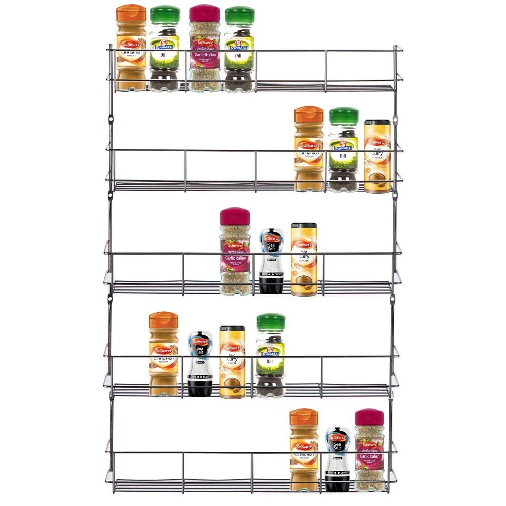 VonShef 5-Tier Spice Rack | Kitchen ideas | Pinterest | Chrome ...