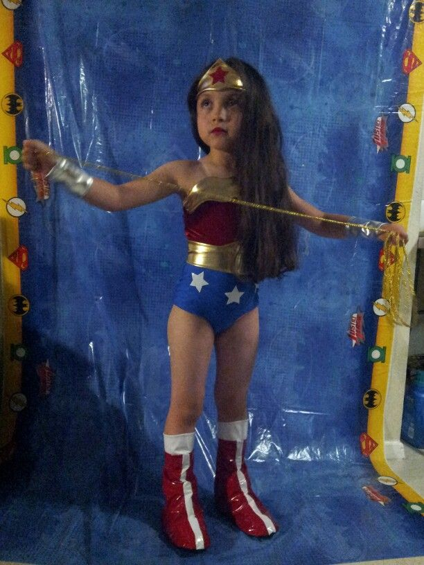 Emily Ortiz 6 Year Old Wonder Woman Cosplay Justice -7451