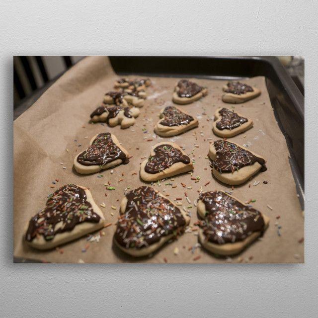 Homemade Christmas cookies by Rytis Sapežinskas | metal posters - Displate | Displate thumbnail