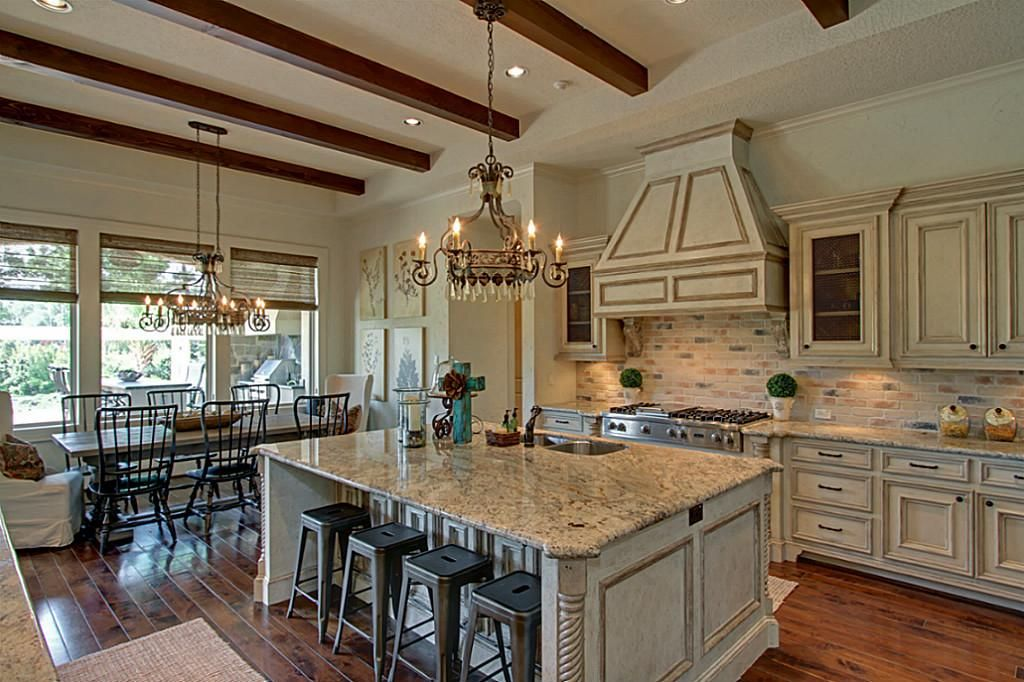 40 Rustic Kitchen Designs To Bring Country Life Designbump: Open French Country Kitchen